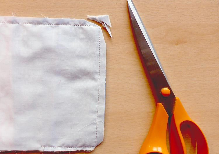 Gratis naai-instructie onderzetters