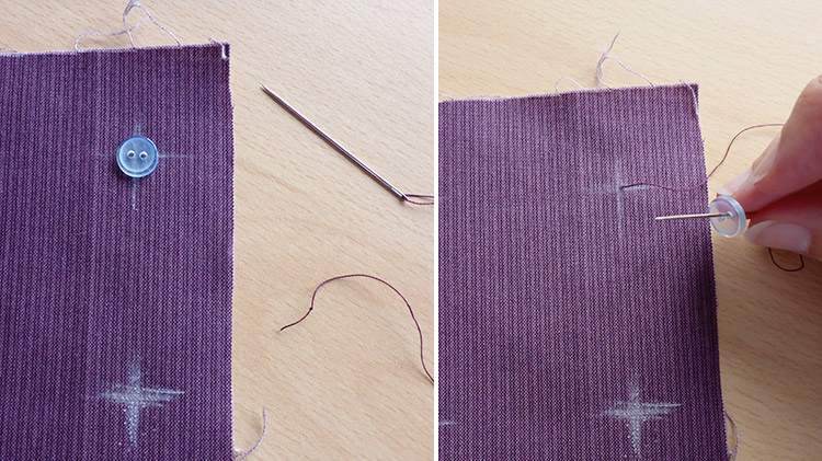 How to Sew on a Button