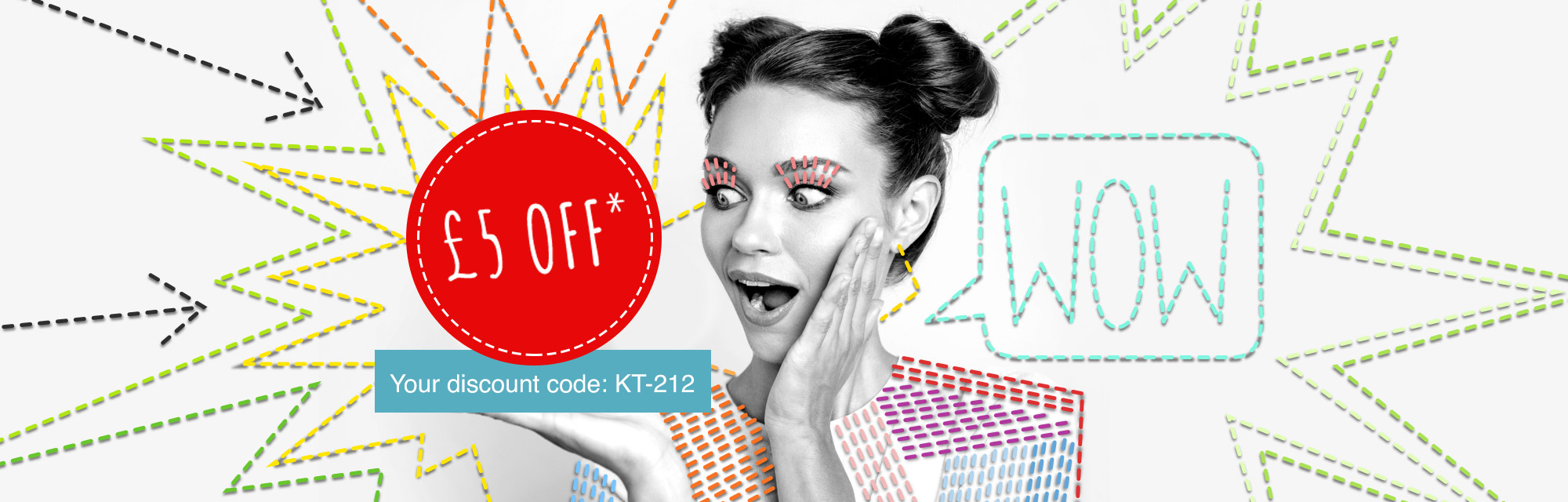 Your £5 discount voucher is waiting for you!